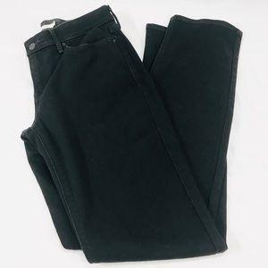 Levi's 525 Perfect Waist Straight Leg Black Jeans